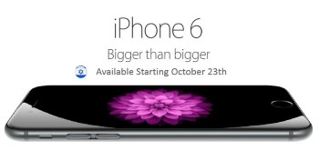 iPhone 6 יושק בארץ באופן רשמי ב-23 לאוקטובר