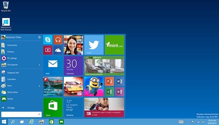 מייקרוסופט חשפה את Windows 10