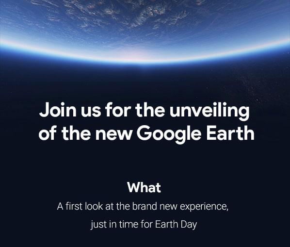 גרסה חדשה ל-Google Earth